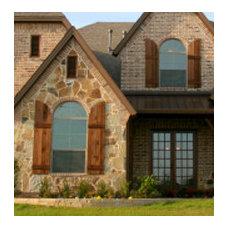 Windows And Doors Exterior Wood Shutters