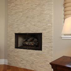 Contemporary Living Room by Custom Design & Construction