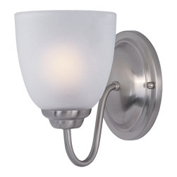 Maxim Lighting - Maxim Lighting 10071FTSN Stefan 1-Light Wall Sconce - Maxim Lighting 10071FTSN Stefan 1-Light Wall Sconce