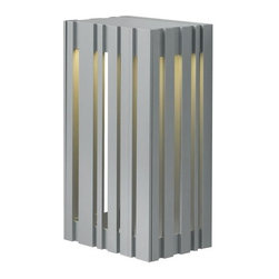 LBL Lighting - LBL Lighting Uptown Small Outdoor 1 Light Outdoor Medium Wall Sconce - LBL Lighting Uptown Small Outdoor 1 Light Outdoor Medium Wall SconceFeaturing a sleek modern design, this stylish large outdoor wall sconce features a 9.6 watt replaceable LED module with a 2700K color temperature for perfect energy-efficient outdoor lighting in any environment.LBL Lighting Uptown Small Outdoor Specifications: