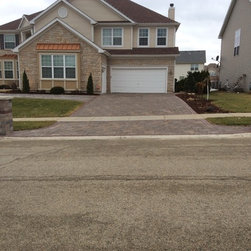 Permeable driveway -