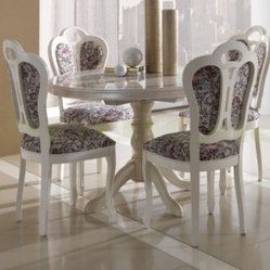 luxurious italian round dining rooms home decorating ideas