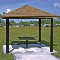 Fifthroom - 10' x 10' Steel Frame Square Forestview Pavilion -