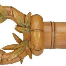 Tropical Curtain Rods by BasicQ Inc.