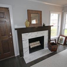 Modern Family Room by Hatfield Builders & Remodelers