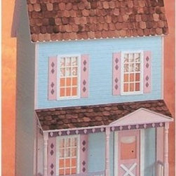 Real Good Toys Playscale® Country House Kit - Enjoy a getaway with your child to the Real Good Toys Playscale Country House Kit. Features include: full length closets and handy storage drawer sturdy construction of 3/8-inch cabinet grade plywood six rooms and a 14-inch floor to ceiling height. Fancy porch posts and spindles and a wooden-shingled roof give this country home an authentic feel. Your child will love to decorate! This dollhouse features pre-assembled windows and doors and comes complete with with step-by-step instructions for easy set-up. Door and windows do not include acrylic or trim. Recommended supplies: hammer glues utility knife masking tape sandpaper (100 and 320 *Paint glue curtains and any landscaping or furnishings are not included.Gingerbread (if used) and Trim Strips are supplied in easy to cut lengths.The overall dimensions of each dollhouse include items that protrude such as porches and roof cresting.Our products are not recommended for children under the age of 3. About Real Good ToysBased in Barre Vt. Real Good Toys has been handcrafting miniature homes since 1973. By designing and engineering the world's best and easiest to assemble miniature homes Real Good Toys makes dreams come true. Their commitment to exceptional detail the highest level of quality and ease of assembly make them one of the most recommended names in dollhouses. Real Good dollhouses make priceless gifts to pass on to your children and your children's children for years to come.