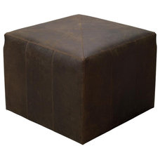 traditional ottomans and cubes by Candelabra