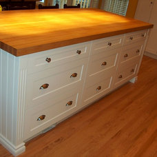 Traditional Kitchen Countertops by Style Line Custom Hardwood Doors & Wood Products