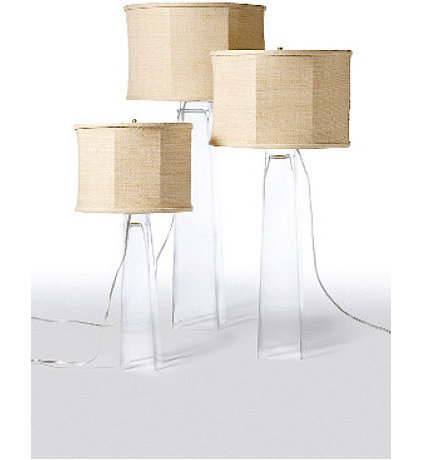 contemporary table lamps by Greige