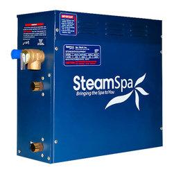 SteamSpa - SteamSpa 4.5 KW QuickStart Steam Bath Generator - DESCRIPTION