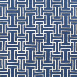 Rugsville Geometric Blue 13710 Wool Rug - Rugsville Trellis collection is handcrafted from wool. Trellis rug inspired pattern is a contemporary and sophisticated addition to any room. This hand woven flat weave rug was meticulously crafted with 100% wool in India.
