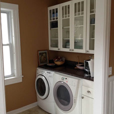 Traditional Laundry Room by CliqStudios Cabinets