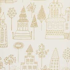 Contemporary Wallpaper by Fabrics & Papers