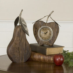 "6661 Table Clocks Clocks by uttermost - Get 10% discount on your first order. Coupon code: ""houzz"". Order today."