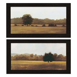 Paragon - Resting/Silent PK/2 - Framed Art - Each product is custom made upon order so there might be small variations from the picture displayed. No two pieces are exactly alike.
