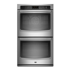 27-Inch Electric Double-Wall Oven with EvenAir True Convection - My current double oven is OK, but it isn't convection. With four growing kids in the house, big meals are getting bigger, and having this would make fixing holiday dinners a breeze.