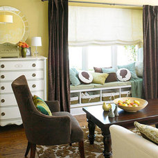 A Cozy and Sophisticated Living Room Makeover