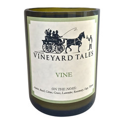 Vineyard Tales - Vine Wine Candle - Napa Valley's Wine Candle Factory - The first stage in making wine starts in the vineyards, where grapes are harvested. Our Vine candle is a walk through the vineyards and will keep you feeling refreshed, relaxed, and is the only way to start your day!