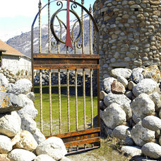 Rustic Home Fencing And Gates by da Vinci Details