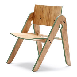 We Do Wood - We Do Wood Lilly's Chair, Green - Lilly's Chair is not only elegant, timeless and functional - it is a chair perfectly fitted for all children between 1-5 years old. With its unique design and material it brings a new dimension to children's furniture. Combined with Geo's Table you will have children's furniture that will last through generations. Lilly's Chair is designed to be assembled easily at home.