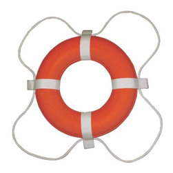 """NATIONAL BRAND ALTERNATIVE - Life Ring 20"""" Diameter Coast Guard Approved - Features:"""
