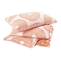 Kashmir Quilts and Shams - I'm crazy about all of John Robshaw's colorful woodblock fabrics, but the company's cozy quilts have me particularly smitten. made of cotton voile, they're supremely soft and cozy.