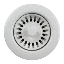 Houzer - Schock-Houzer Color Strainer - Speckled Grani - Customer designed to complement specific sink model and color. 1 Year Limited Warranty. Plastic. Product Specifications