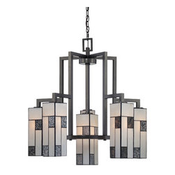 Designer Fountain - Bradley 6-Light Chandelier - 6-light chandelier