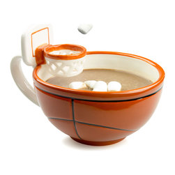 Max I's Creations - The Mug With A Hoop - This slam dunk mug is a real fan favorite!