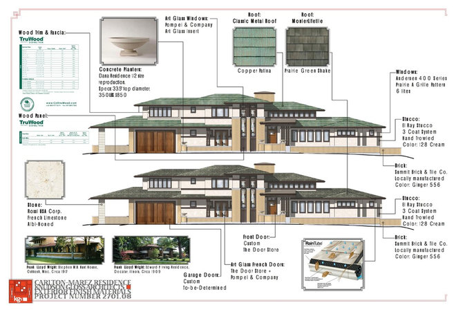 Exterior Elevation by Porchfront Homes