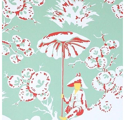 contemporary wallpaper by Meg Braff Designs