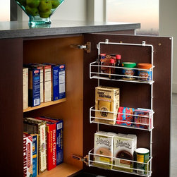 Cabinetry Accessories - Base Wire Door Rack, - Wood-Mode Cabinetry - Heart of the Home Kitchens