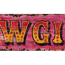 Red Horse Signs - Vintage Signs owgirl Rustic Wood Sign - Give  your  little  cowgirl  her  own  special  sign  in  brilliant  pink  western  print.  Measuring  7x30  inches  this  Cowgirl  sign  is  printed  directly  to  distressed  wood  for  a  rustic  western  appeal  that's  sure  to  win.