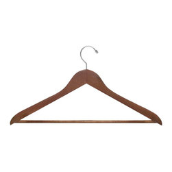 Honey Can Do - Cherry Non-Slip Shirt / Trouser Hangers - Set of 24 - HNG-01335 - Shop for Clothing Hangers from Hayneedle.com! About Honey-Can-DoHeadquartered in Chicago Honey-Can-Do is dedicated to helping you organize your life. They understand that you need storage solutions that are stylish and affordable at the same time. Honey-Can-Do focuses on current design trends and colors to create products that fit your decor tastes while simultaneously concentrating on exceptional quality. When buying a Honey-Can-Do product you can be sure you're purchasing a piece that has met safety control standards and social compliance methods.