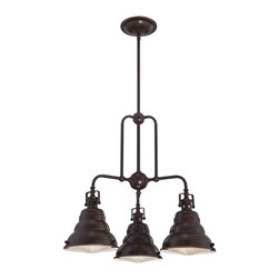 Quoizel Lighting - Quoizel EVE5103PN Eastvale Palladian Bronze 3 Light Chandelier - 3, 100W A19 Medium