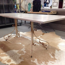 Dining Tables by Crafted Metal Designs