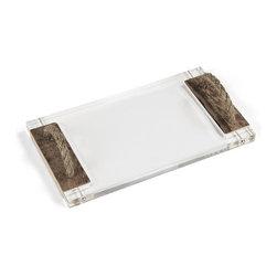 Zentique - Zentique Acrylic Serving Board - Acrylic Serving Board by Zentique. There may be slight variations in color. Mark, Matthew, and Luke serving boards are available.Mark serving board: W23.75 x H1 x D10Matthew serving board: W23 x H1 x D10Luke serving board: W18 x H1 x D10