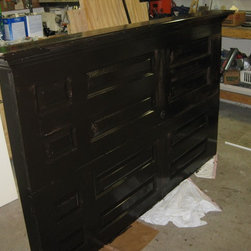 Headboards Made From Doors - Headboards made from doors