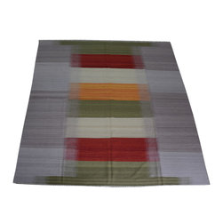 1800-Get-A-Rug - Colorful Oriental Rug Durie Kilim Reversible Hand Woven Sh10492 - About Flat Weave