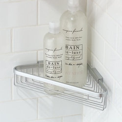 Motiv Hotelier Deep Corner Basket Bathroom Shelf