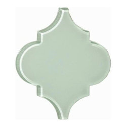 Arabesque- Glass- Reflective Pool - Sample - Arabesque- Glass- Reflective Pool - Sample