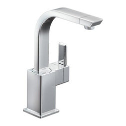 "Moen - Moen S5170 Chrome 90 Degree Single Lever High Arc Single Hole Mount - With its ultra–contemporary styling, 90 Degree brings a clean, minimalist aesthetic to the home. Moen S5170 Product Features:  one–handle lever design for ease of use aerated stream single hole mount ADA compliant limited lifetime warranty meets ab1953 (california); s152 (vermont) legislation  Moen S5170 Product Specifications:  # of spray functions: one–function connection size: 1/2"" connection type: compression hose length: 68"" hose length spout height: 11.00"" supply length: 24"" gpm: 2.2 gpm (8.3 l/min) max. cartridge type: 1255 s152(vermont); ab1953(california) legislation warranty: limited lifetime"