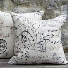 Contemporary Pillows by www.pillowsforhope.com