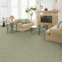 Masland Carpets - Embrace in Avocado - Indulge yourself in luxury and comfort with the irresistible softness of Embrace, a densely textured cut pile carpet. Made with 100% STAINMASTER® TruSoft™ BCF nylon Type 6,6 , Embrace provides you the comfort you deserve and the performance your lifestyle demands. There are fifty amazing colors in the palette making it easier than ever to find the special one that suits your style.