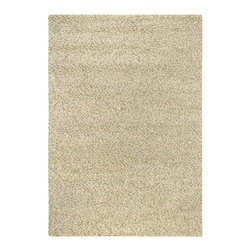 """Couristan - Lagash Lagash Rug 5517/5072 - 2'6"""" x 4'6"""" - Like high fashion, classic area rug design trends tend to repeat among new generations. The traditional 70's-era shag gets an update with Lagash's modern take. Its natural, felted wool adds function as well as a fresh, earthy feel that would perfectly complement today's rustic decor styles."""