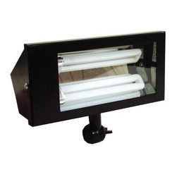 NATIONAL BRAND ALTERNATIVE - Floodlight with Metal Housing - Features: