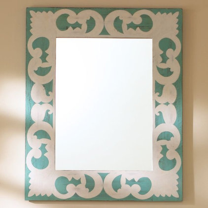 contemporary mirrors by PBteen