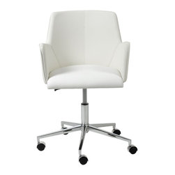 Euro Style - Euro Style Sunny Office Chair X-THW22671 - Sunny indeed. This is a chair with a surprising amount of dignity and style. It's authoritative without being pushy. However, when it's time for a break, you can push it right over to the window and do some weekend daydreaming.