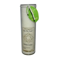 Aloha Bay Chakra Candle Jar White Lotus - 11 Oz - Aloha Bay Chakra Candle Jar White Lotus Description: