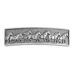 Sierra Lifestyles - Running Horse Pull - Pewter (SIE-681489) - Running Horse Pull - Pewter
